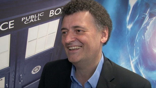 Steven Moffat talks 'Doctor Who' 50th special.