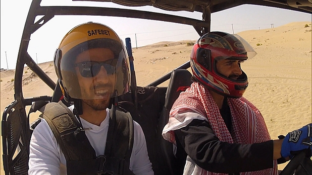 Leo and Jamal in The Amazing Race: 'One Hot Camel'