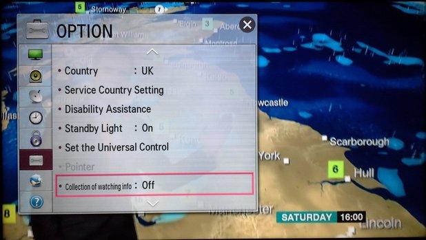 LG Smart TV screenshot by blogger DoctorBeet