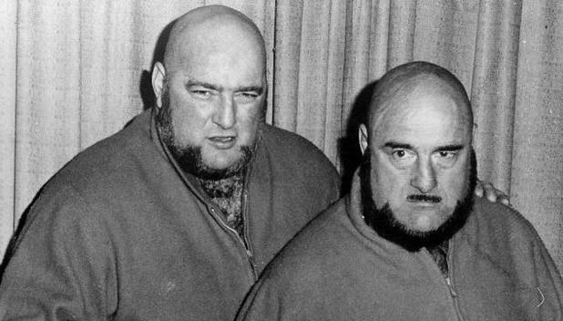 Maurice 'Mad Dog' Vachon with his brother Paul