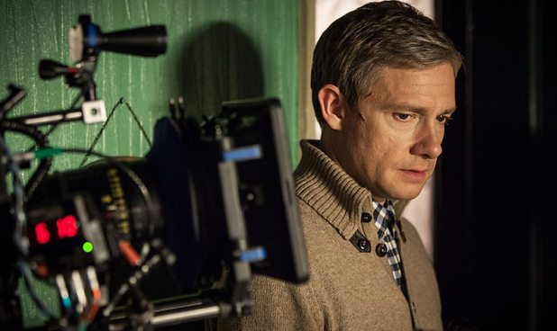 Martin Freeman as Doctor John Watson.