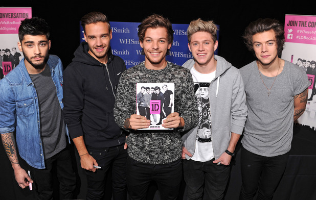 One Direction 'Where We Are' book signing, Alexandra Palace, London, Britain - 18 Nov 2013