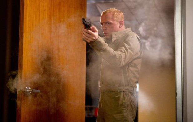 Simon Pegg in 'Mission: Impossible - Ghost Protocol'