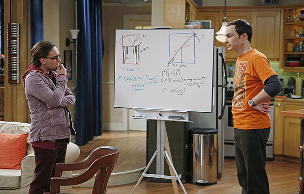 Johnny Galecki and Jim Parsons in The Big Bang Theory: 'The Thanksgiving Decoupling'