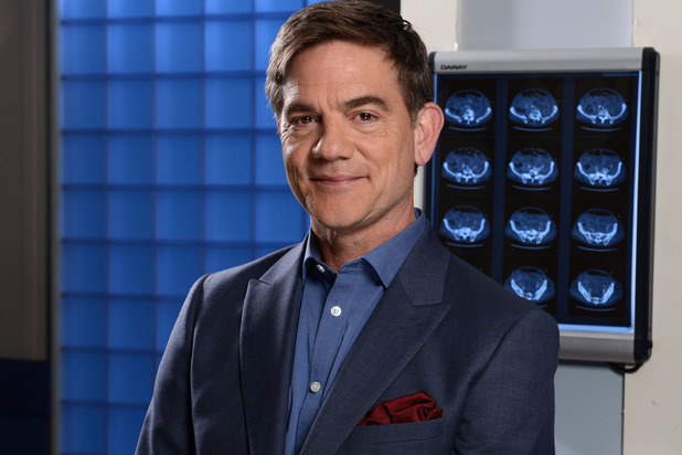 John Michie as Guy Self in Holby City