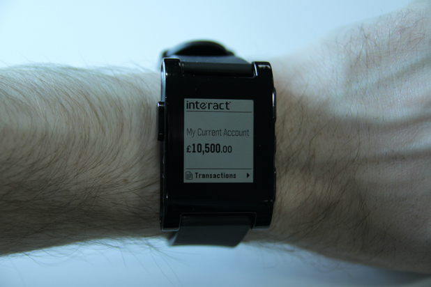 Interact Smartwatch App for Pebble watches