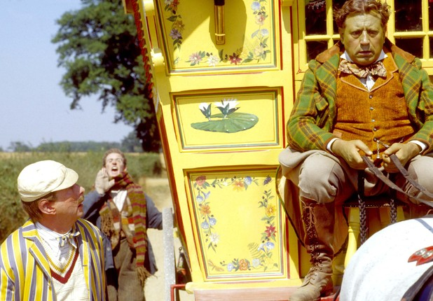 Eric Idle, Steve Coogan and Terry Jones in 'Monty Python': 'The Wind In The Willows'