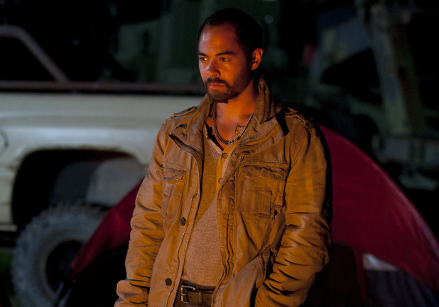 Martinez (Jose Pablo Cantillo) in The Walking Dead: ''Live Bait'