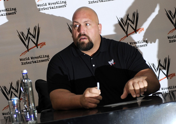 Wrestler The Big Show meets fans at Harrods in central Lodnon