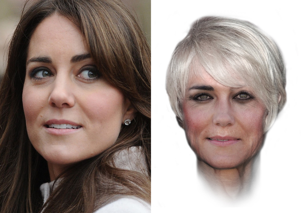 Kate Middleton aged 65