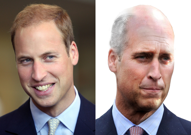 Prince William aged 65