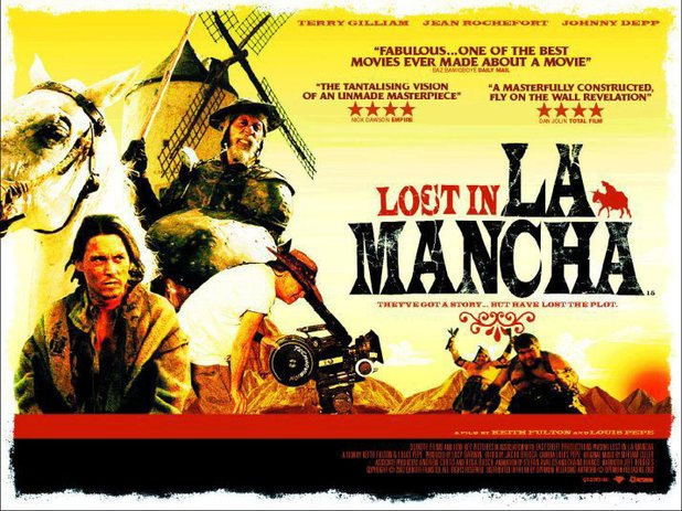 'Lost in La Mancha' poster
