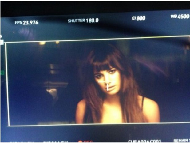 Lea Michele shares music video image