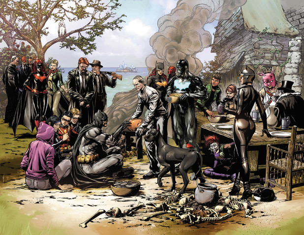 'Batman: Eternal' thanksgiving teaser