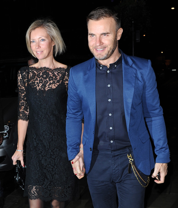 Gary Barlow, Dawn Andrews
