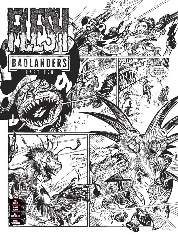 Flesh 'Badlanders'