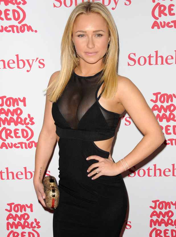 Hayden Panettiere at Jony And Marc's (RED) Auction - Red Carpet Arrivals at Sotheby's