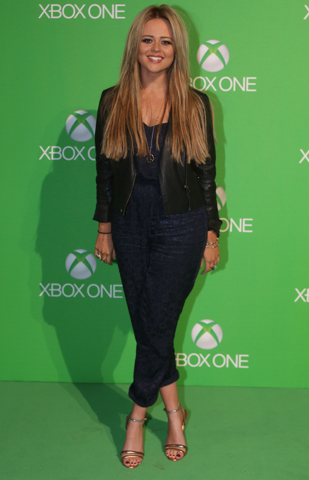 Kimberley Walsh at the Xbox One Square launch event