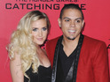Ashlee Simpson and new husband marry at the home of Diana Ross.