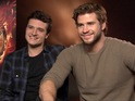 Josh Hutcherson and Liam Hemsworth on returning for Hunger Games: Catching Fire.