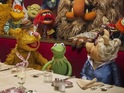 Ricky Gervais's Dominic Badguy charms the Muppets in DS's exclusive clip.
