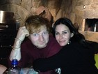 He'll be there for you: Ed Sheeran will sing at Courteney Cox's wedding