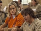 Taylor Schilling reacts to Orange is the New Black's Golden Globe nod