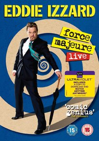 Eddie Izzard - 'Force Majeure Live'