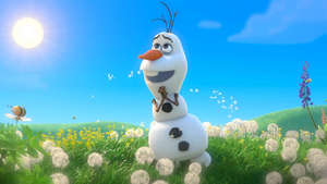 Watch the music video for Frozen snowman Olaf's song 'In Summer'.