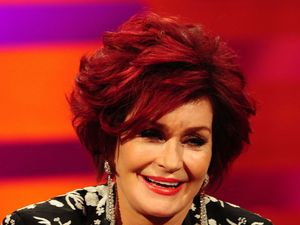 Sharon Osbourne during the filming of the Graham Norton Show at The London Studios, south London, to be aired on BBC One on Friday evening. Picture date: Thursday November 28, 2013. Photo credit should read: Ian West/PA Wire