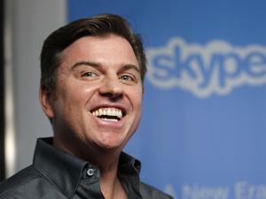 Skype president Tony Bates
