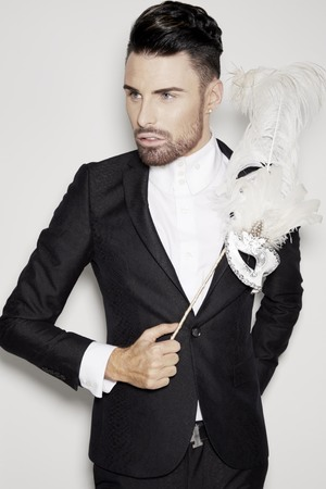 Rylan Clark in a new CBB promo shot