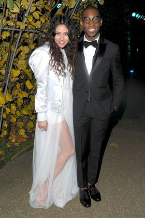 Winter Whites Centrepoint Gala, Kensington Palace, London, Britain - 26 Nov 2013 Eliza Doolittle and Tinie Tempah