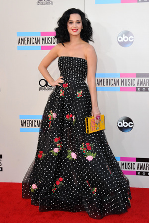 Katy Perry at the American Music Awards at the Nokia Theatre L.A. Live on Sunday, Nov. 24, 2013, in Los Angeles