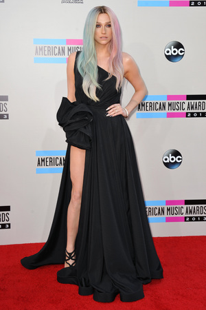Ke$ha at the American Music Awards at the Nokia Theatre L.A. Live on Sunday, Nov. 24, 2013, in Los Angeles