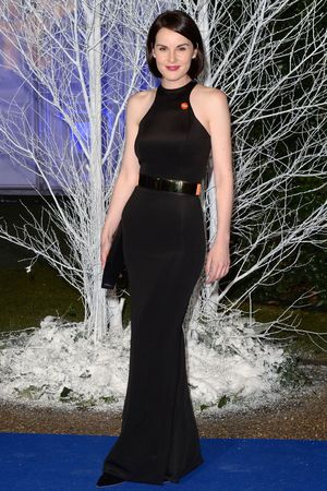 Winter Whites Centrepoint Gala, Kensington Palace, London, Britain - 26 Nov 2013 Michelle Dockery