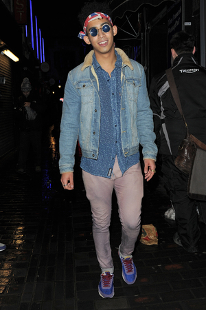 Rizzle Kicks Birthday Party at the Box Club, London, Britain - 26 Nov 2013