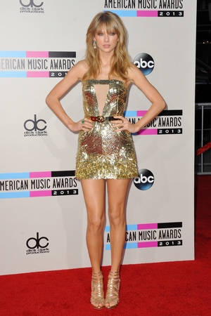 American Music Awards, Arrivals, Los Angeles, America - 24 Nov 2013 Taylor Swift