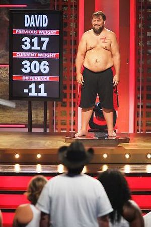 David's weigh-in during The Biggest Loser S15E06