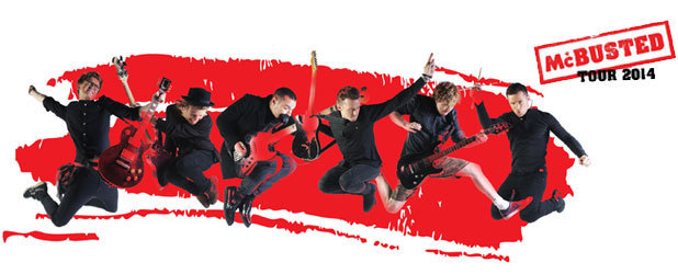 McBusted Tour 2014