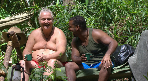 'I'm A Celebrity Get Me Out Of Here' TV Programme, Australia - 21 Nov 2013 David Emanuel and Alfonso Ribeiro 21 Nov 2013