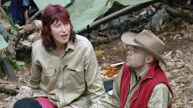 'I'M A CELEBRITY, GET ME OUT OF HERE' TV PROGRAMME, AUSTRALIA - 23 NOV 2004 Janet Street Porter and Brian Harvey 23 Nov 2004