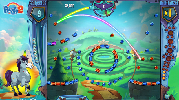 'Peggle 2' screenshot