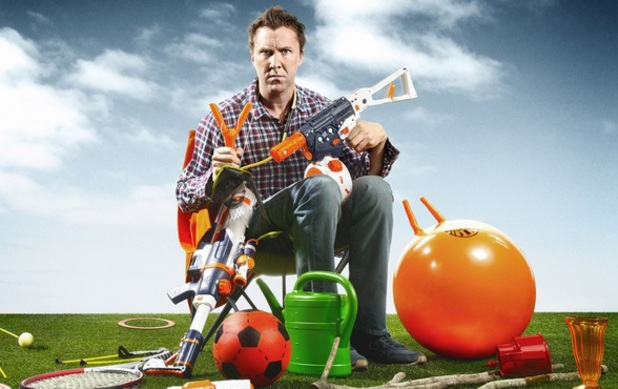 Jason Byrne in 'Father Figure'.