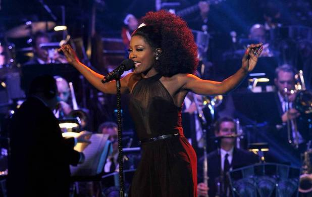 Lillie McCloud performs during The X Factor USA Big Band week