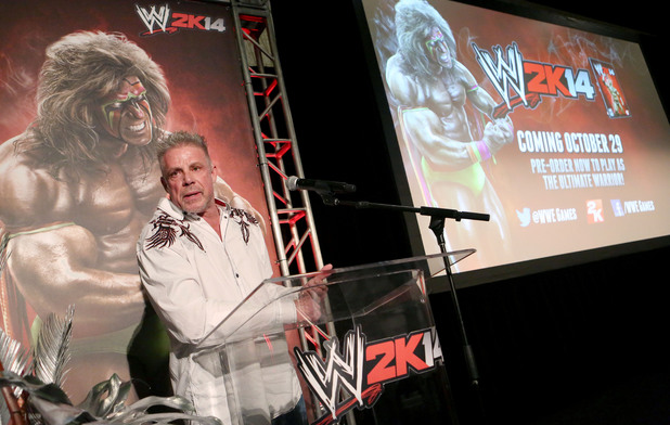 Warrior talks about his career as the Ultimate Warrior, a playable WWE Legend on WWE 2K14
