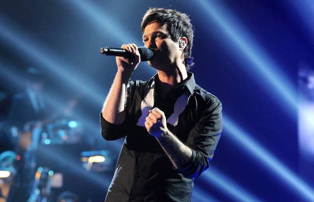 Jeff Gutt performs during The X Factor USA Big Band week