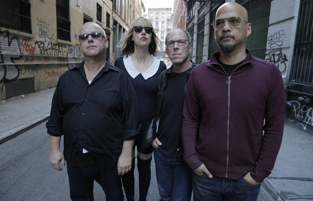 Black Francis, Kim Shattuck, David Lovering, Joey Santiago of the Pixies