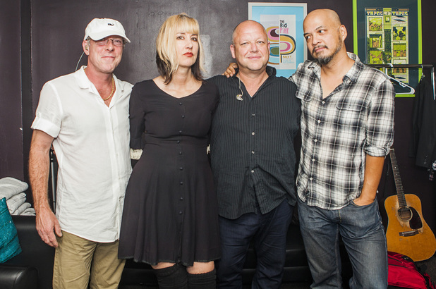 David Lovering, Kim Shattuck, Frank Black, Joey Santiago of the Pixies
