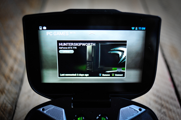 Nvidia Shield handheld games console